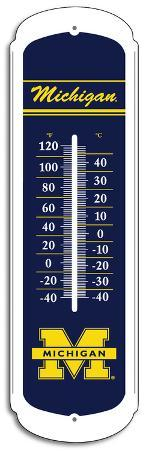 NCAA Michigan Wolverines Outdoor Thermometer