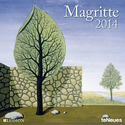 Rene Magritte - 2014 Calendar