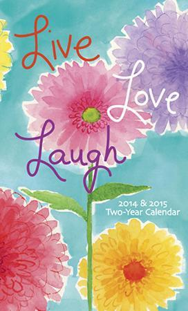 Live Love Laugh - 2014 2 Year Planner
