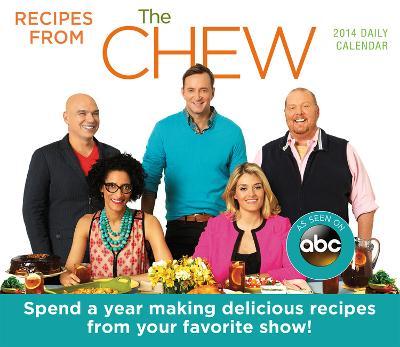 The Chew - 2014 Box Calendar
