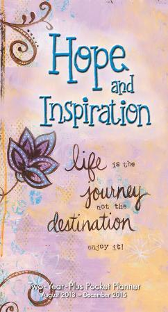 Year of Hope and Inspiration - 2014 Checkbook Calendar