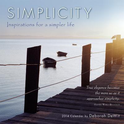 Simplicity - 2014 Mini Calendar