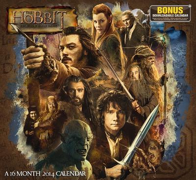 The Hobbit Desolation of Smaug - 2014 Calendar