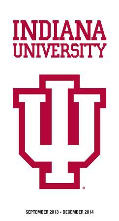 Indiana University - 2014 Pocket Calendar