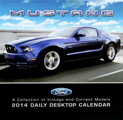 Ford Mustang - 2014 Box Calendar