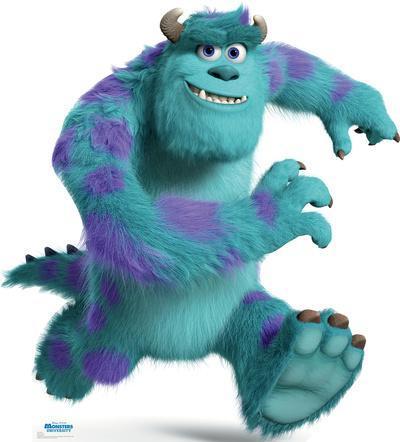 Sulley - Disney Pixar Monsters University Lifesize Standup