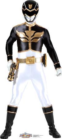 Black - Power Rangers Megaforce Lifesize Standup