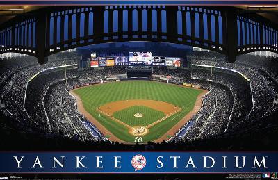 Yankee Stadium MLB Sports Poster