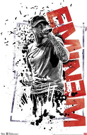 Eminem Crumble Music Poster