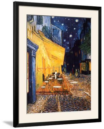 The Café Terrace on the Place du Forum, Arles, at Night, c.1888