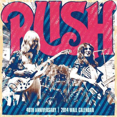 RUSH - 2014 16-Month Calendar