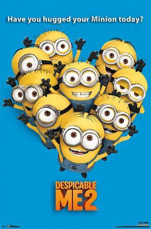 Despicable Me 2 Minions Movie Poster
