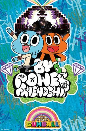 The Amazing World of Gumball - Friendship TV Poster