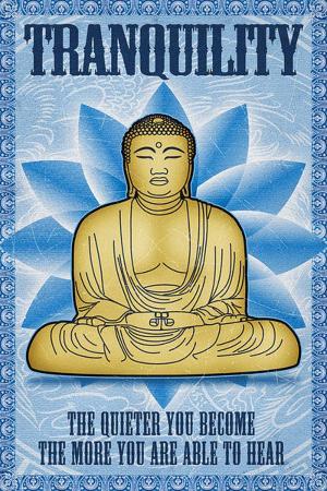 Buddha Tranquility Poster