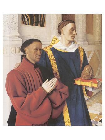 Estienne Chevalier With St. Stephen