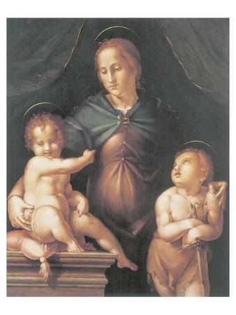 The Virgin And Child With The Young Saint John The Baptist