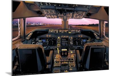 Boeing 747-400 Flight Deck