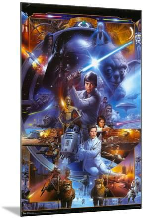 Star Wars - Saga Collage