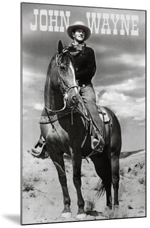 John Wayne (On Horse) Movie Poster Print