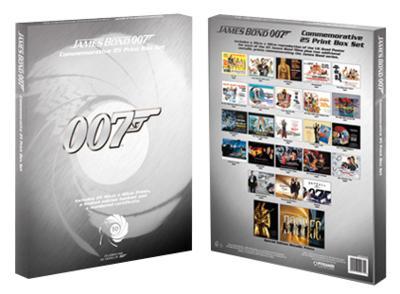 James Bond (007) - Limited Edition Art Print Collection (20 Prints)