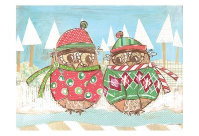 Christmas Owls 3
