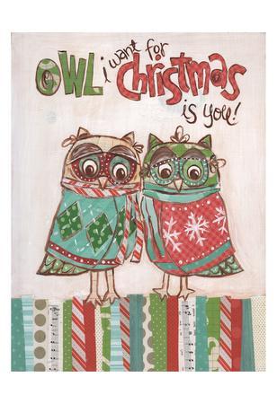 Chritmas Owls 1