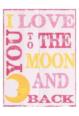 To The Moon and Back Pink