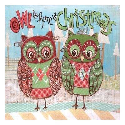 Christmas Owls 2