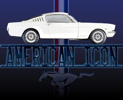Mustang American Icon Tin Sign