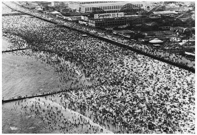 Coney Island Archival Photo Poster