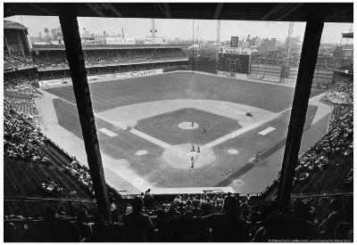 Shibe Park Connie Mack Stadium Archival Photo Poster