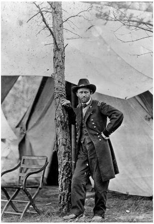 General Ulyssess Grant Civil War Archival Photo Poster