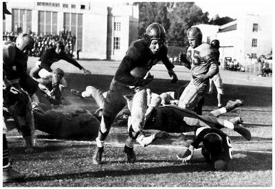 Georgia vs. LSU Football Vintage Archival Photo Poster