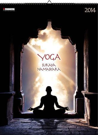 yoga surya namaskar  2014 poster calendar calendars at