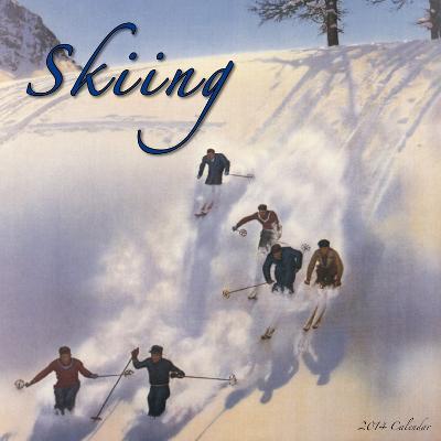 Skiing  - 2014 Calendar