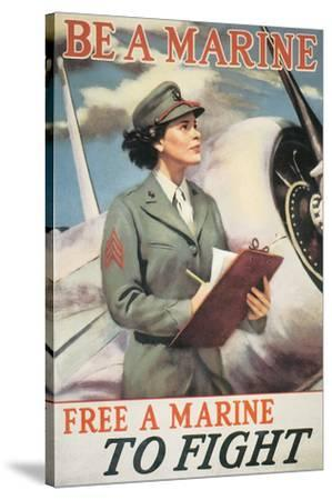 Be A Marine - Free A Marine To Fight