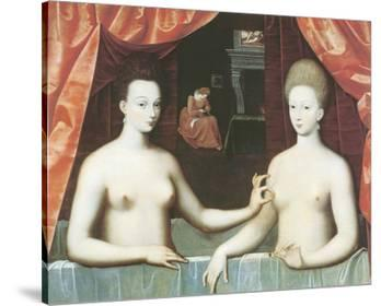 Gabrielle d'Estrees And One Of Her Sisters
