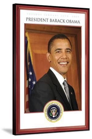 President Barack Obama - Tuesday, January 20th, 2009