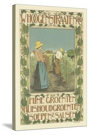 W. Hoogenstraaten & Co.: Fine Vegetables, Cooking Greens, Soups And Sauces