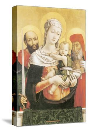 Virgin And Child With Saints Paul And Jerome