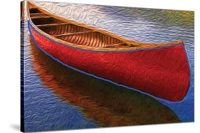 Canoe on Thomson Pond