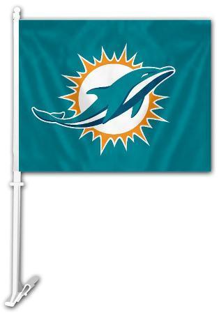 NFL Miami Dolphins Car Flag