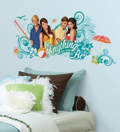 Teen Beach Movie Be Anything You Want To Be Peel and Stick Giant Wall Decals