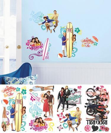 Teen Beach Movie Peel and Stick Wall Decals