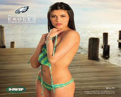 Philadelphia Eagles Cheerleaders - 2014 Calendar
