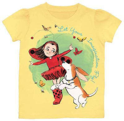Toddler: Ladybug Girl - Imagination