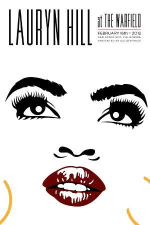 Lauryn Hill at the Warfield