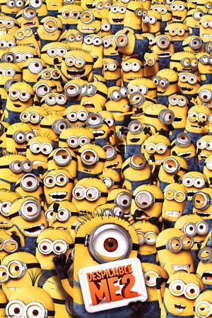 Despicable Me 2 Many Minions