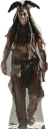 The Lone Ranger Disney Movie - Tonto (Johnny Depp) Lifesize Standup