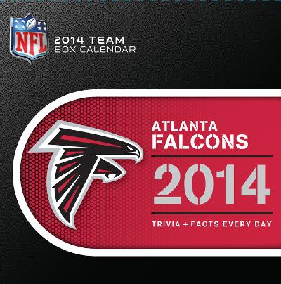 Atlanta Falcons - 2014 Box Calendar